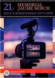 25-01-2018. 21è Cicle d'Audiovisuals Memorial Jaume Serch @ Local Social   Barcelona   Catalunya   Espanya